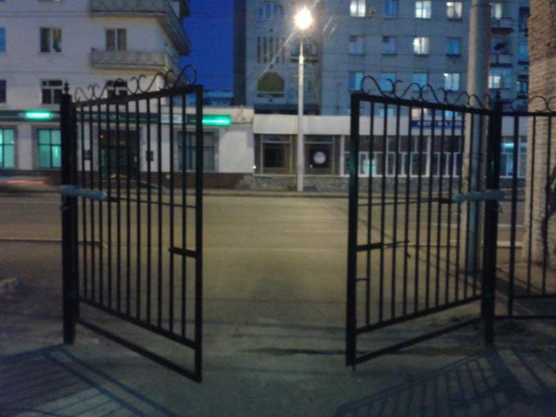 въездные отканые ворота Alutech. Doorhan. Hoermann. Сан-Строй-Уфа.